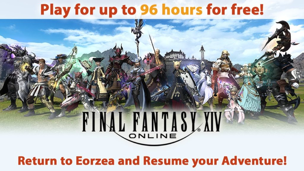 DZVH4xfVAAAbo47-1024x576 Square Enix Kicked Off Another Final Fantasy XIV Login Campaign